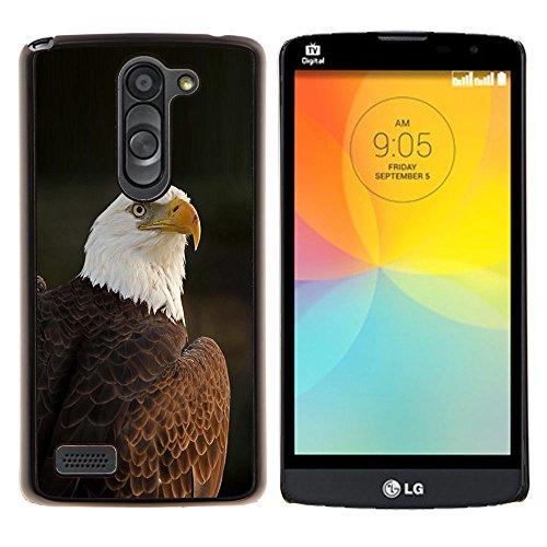 YiPhone /// Premium Slim Snap caso della copertura posteriore Armatura Shell - piume di uccello (Telaio Patriottico)