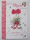 Wunderschönen bunten to a special Mum Grußkarte Weihnachten