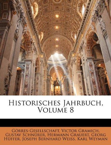 Historisches Jahrbuch, Achter Band