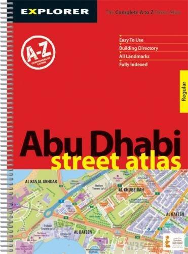 Abu Dhabi Street Atlas ( Regular ): Auh_atr_1 (City Atlases S.) por Explorer Publishing and Distribution