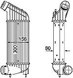 BEHR HELLA SERVICE 8ML 376 746-361 *** PREMIUM LINE *** Intercooler, échangeur