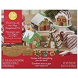 Unassembled Gingerbread House Kit-Mini Village