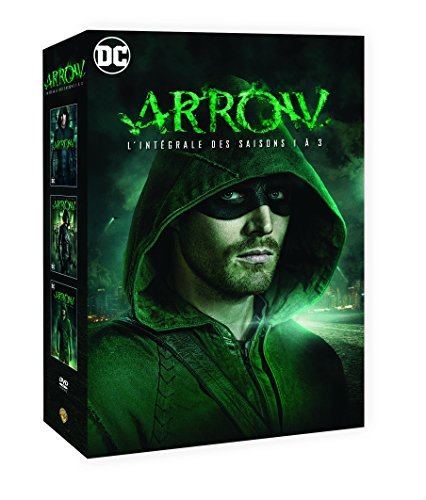 Coffret arrow, saisons 1 à 3