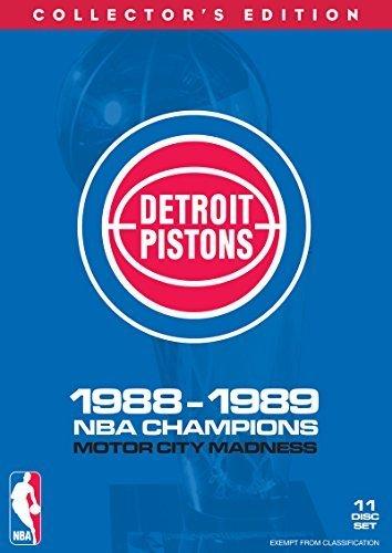 NBA: Detroit Pistons 1988-89 Champions (11 Disc Box Set) (Nba-dvd-set)