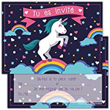 Amazon Fr Carte Invitation Anniversaire