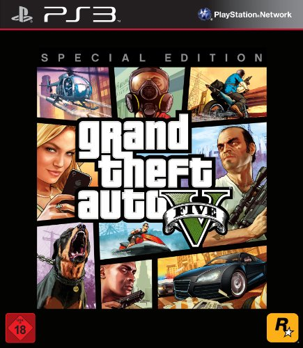 Grand Theft Auto V - Special Edition (Playstation 4 Gta 5 Edition)