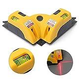 Laser Ebenen  favolook Professional selbst Vertikale horizontale Linie rot Laser quadratisch Level rechts Winkel