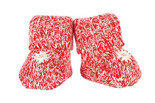 Trachten Baby Socken - BABY - hellblau, rosa, rot, Größe One (Rosa Socken Trachten)