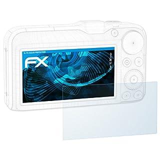 atFoliX Schutzfolie kompatibel mit Yi Mirror Folie, ultraklare FX Displayschutzfolie (3X)