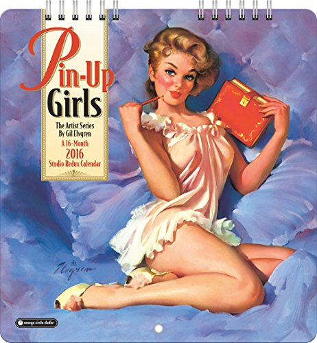 Pin-Up Girls Studio Redux 2016 Calendar