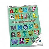 Hausaufgabenheft ABC Monster für die Grundschule (farbiges Innenteil)