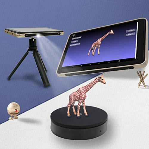 Tanso S1 Ultradünner tragbarer 3D-Scanner für industrielle Anwendungen, 7-Zoll-Touchscreen, Android-System, kein PC erforderlich, schnelles Scannen, sofortiger Export für 3D-Druck, 0,1 mm Genauigkeit