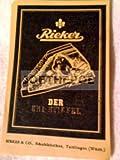 50er Jahre : Anzeige: RIEKER SKISTIEFEL - Format: ca. 70 x 100 mm - alte Werbung /Originalwerbung/ Printwerbung /Anzeigenwerbung