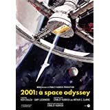ZEMFO Ultimate Movie Poster Collection | 2001 - A Space Odyssey - Cult Classics | Perfect For Hollywood Fans (Cult 10, 12x18 Inches Lamination & Frame)