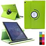COOVY® Cover für Huawei Mediapad M3 Lite 10 Rotation 360° Smart Hülle Tasche Etui Case Schutz Ständer | Farbe grün