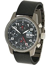 Aristo Unisex reloj cronógrafo automático de titanio de carbono 5H99 ETA 7750 movimiento hizo suizo