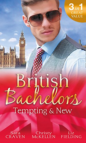 book cover of British Bachelors: Tempting and New