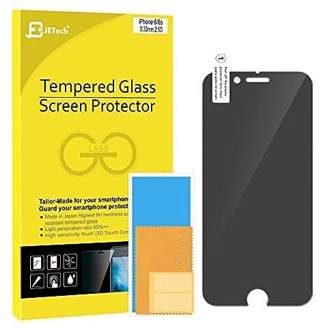 iPhone 6s Confidentiel Film Protection Ecran, JETech Prime Anti-Espion Protection Ecran en verre trempé pour Apple iPhone 6 et iPhone 6s 4.7