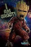 Marvel Comics Die wächter der Galaxy Vol. 2 'Wütend Groot' Maxi Poster,61 x 91.5 cm