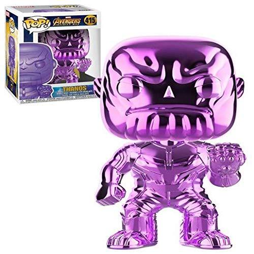 Funko Pop! - 36217 - Marvel: Avengers Infinity War - Thanos (Chrome - Purple) - Vinyl Figure, 9cm