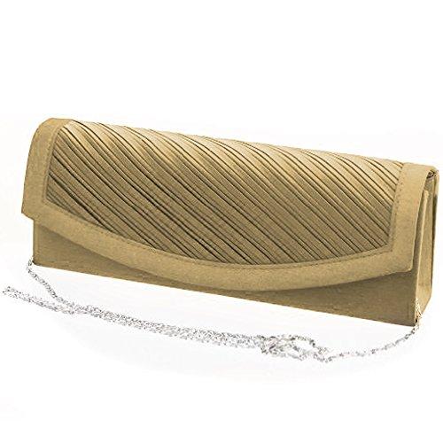 Fashion4Young, Poschette giorno donna (ML817-Gold)