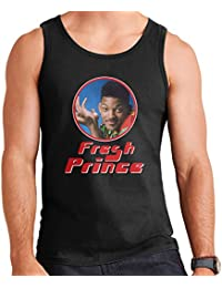 Fresh Prince Of Bel Will Smith Retro Photo Frame Men's Vest