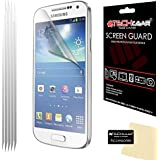 Techgear Clear LCD Screen Protector for Samsung Galaxy S4 i9500/i9505 (Pack of 5)