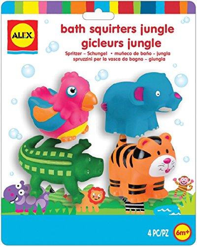 Alex - 700JN - Gicleurs de Bain 4 pièces - La Jungle