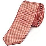 Étroit Cravate de Fabio Farini en rouge blanc