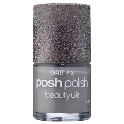 Beauty UK Grit FX Posh Polish Professional Salon Natural/False/Acrylic 3D Nail Varnish Lacquer Nail Art Six Shades