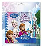 Disney Petit Journal Intime avec Stylo Et Cadeans Frozen