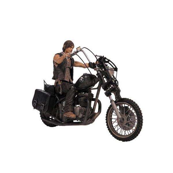 McFarlane Walking Dead TV Daryl Dixon con Chopper Figura de acción Box Set 1