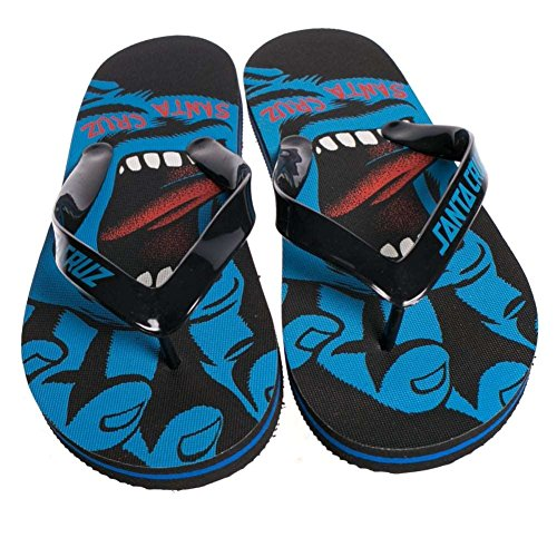 Flipflops: Flip Flop Screaming Hand Black BK/BL 6-7 USA / 39-40 EUR (Cruz-flip-flops)