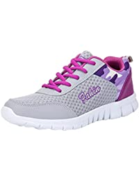 Zapatos mujer Casuals trabajo y juego,Sonnena Zapatos de mujer de moda Zapatos Casuals Zapatos para caminar al aire libre Zapatos bajos Zapatos deportivos