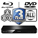 Panasonic DMP-BDT170EB Smart 3D 4K Upscaling ICOS Multi Region All Zone Code Free Blu-ray Player. Blu-ray regions A, B and C, DVD regions 1 - 8. YouTube, Netflix etc. HDMI output. HDD Playback.