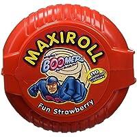 Boomer - Chicle Maxi-Roll Fresa - [Pack de 4]