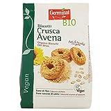 Germinal Bio Biscotti Crusca Avena - 250 gr - [confezione da 5]