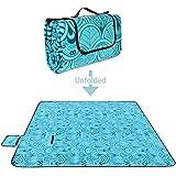 Tapis de pique-nique, Vingtank 200x200 cm Grand format Tapis de voyage imperméable pliable camping pique-nique plage couverture