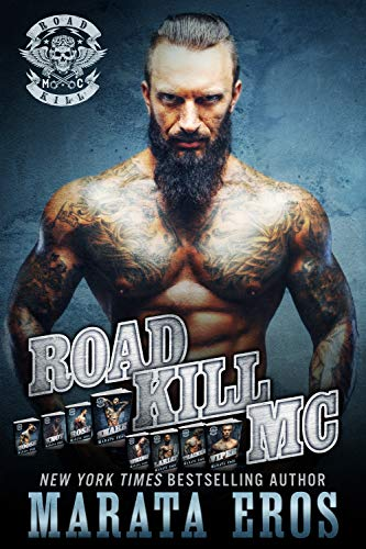 Road Kill MC Series Mega Boxed Set (Volumes 1-8): Dark Motorcycle Club / MC SEAL Romance (English Edition) -