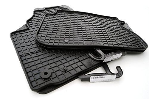 kh Teile 6411064310 Gummimatten (Komplett-Set) Gummi Fußmatten 4-teilig schwarz