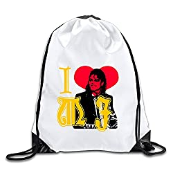 Good Gift - Cool I Love Michael Jackson Sport Bag Gym Bag For Men & Women Sackpack