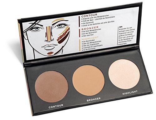 youstar - CONTOUR EFFECTS2 Palette, Multi Color, Contour, Puder, Powder, Bronzer, Highlighter - Bronzing Stick