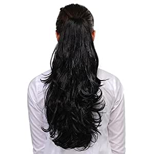Homeoculture Hair Extension, 20 Inches, Black