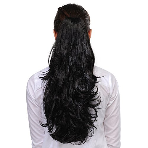 Homeoculture Hair Extension, 20 Inches (Black)