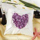 YY Ring pillow European Creative Amour Rose Bague Taie d'oreiller de mariage de mariage Fournitures