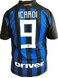 F.C. INTER - L.C. SPORT srl Trikot Inter Mauro Icardi 9 Replik autorisierte 2018-2019 Kind (Plus-Jahre 2 4 6 8 10 12) Erwachsene (S M L XL) - XL