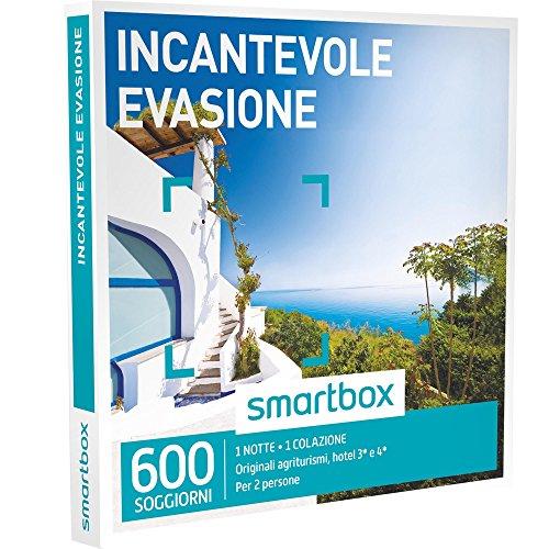 SMARTBOX - Cofanetto Regalo - INCANTEVOLE EVASIONE - 1 notte con colazione,...
