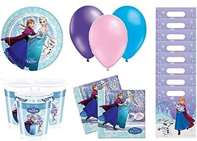 Disney Frozen Kit de cumpleaños 8 Personas de aucun