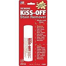 GENERAL PENCIL Kiss-Off Stick détachant universel pour Artiste Blanc/Rouge