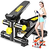 FAMLYJK Elliptical Twister Stepper - Fitness-Übung - Mini-Stepper - einfaches Workout am...